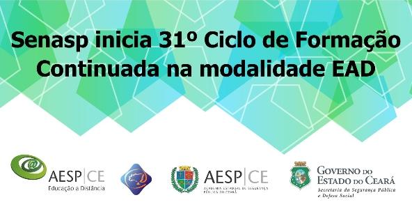 AESP e SENASP abrem inscrições para 31º Ciclo de Cursos EAD