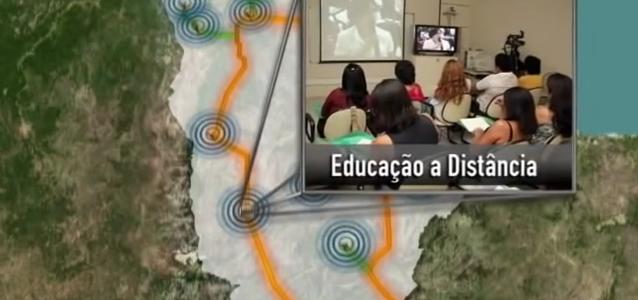 Centro de Estudos: Transmissão de Palestras na Intranet