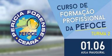 AESP convida os candidatos da 2ª Turma do Curso de Formação Profissional da PEFOCE para aula inaugural